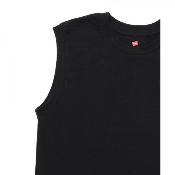【Hanes FOR BIOTOP】Sleeveless T-Shirts(カラー)【お取り寄せ商品】