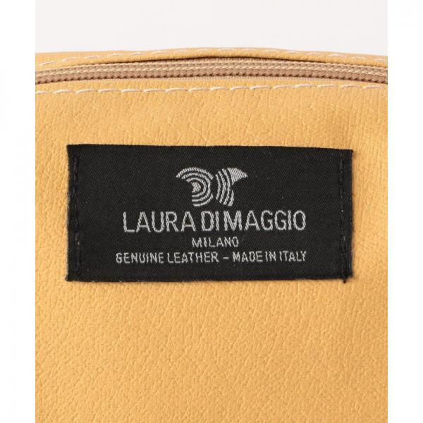 【LAURA DI MAGGIO/ラウラ ディ マッジョ】プレーン2WAYショルダーバッグ【お取り寄せ商品】