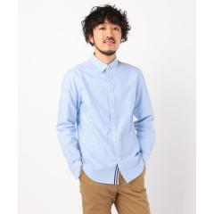 ニットテープ ボタンダウン OXシャツ【お取り寄せ商品】