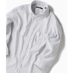SC: カラミ/ドビー セミワイドカラー 7スリーブシャツ【お取り寄せ商品】