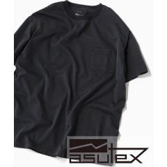 SC: ASUTEX(R) 製品染め ポケット Tシャツ【お取り寄せ商品】
