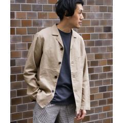 高機能リネンカバーオールジャケット【お取り寄せ商品】