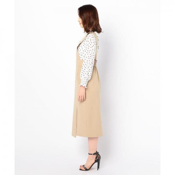 ギャバ2wayジャンパースカート【お取り寄せ商品】
