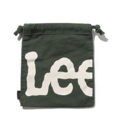 ロゴプリント 巾着袋color