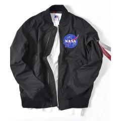 ALPHA: SHIPS別注 ボンディング MA-1 【NASA】【お取り寄せ商品】