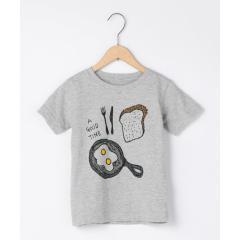 【ハッピープライス・coen キッズ/ジュニア】アウトドアプリントTシャツ【お取り寄せ商品】
