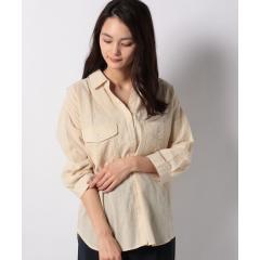 綿シャーリングシャツ