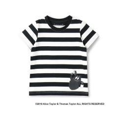 バーバパパ モジャペイントボーダーTシャツ(90~130cm)