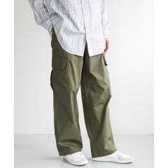 poplin wide cargo pants【お取り寄せ商品】