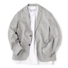 SHIPS JET BLUE: クールマックス ジャージージャケット【お取り寄せ商品】