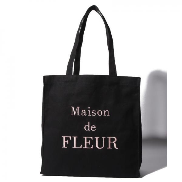 f7cc4f8f4244 LOHACO - ブランドロゴ刺繍トートバッグ (トートバッグ) MAGASEEK