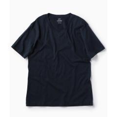 SC: アメリカンシーアイランドコットン Vネック Tシャツ【お取り寄せ商品】