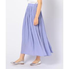 [新色追加]割繊ギャザーロングスカート【お取り寄せ商品】