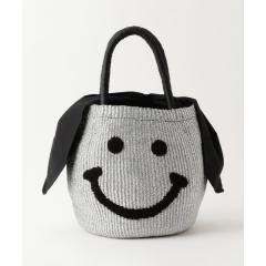 【a-jolie/アジョリー】スマイルメタリックかごバッグ【お取り寄せ商品】