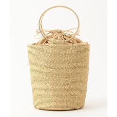 【BERTINI/ベルティニ】メタリックブレードリングバケツバッグ【お取り寄せ商品】
