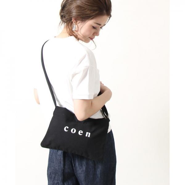 coen(コーエン)ロゴサコッシュ【お取り寄せ商品】