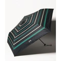ボーダー晴雨兼用折りたたみ傘 日傘