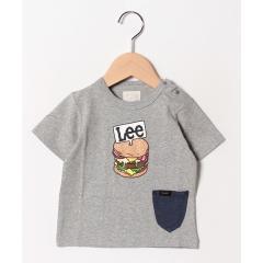 Babyポケット付き プリントTシャツ