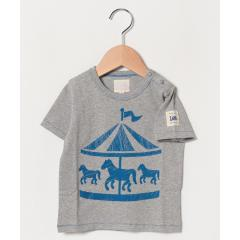 Baby プリントTシャツ メリーゴーランド