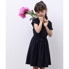 【ROPE' PICNIC KIDS】タッセルリボンワンピース