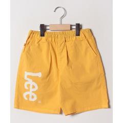 【140cm-160cm】Leeロゴプリント ショーツ