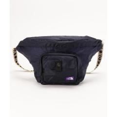 THE NORTH FACE PURPLE LABEL(ザ・ノースフェイス パープルレーベル) Lightweight Logo Tape Waist Bag【お取り寄せ商品】