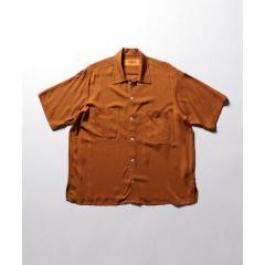 【UNIVERSAL OVERALL / ユニバーサルオーバーオール】オープンカラーシャツ (U913168)【お取り寄せ商品】