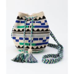【GUANABANA/グアナバナ】ジャガード巾着ショルダーバッグ【お取り寄せ商品】
