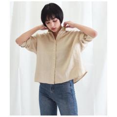 フレンチリネンシャツ【お取り寄せ商品】