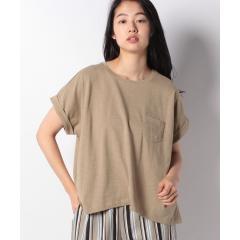 ポケ付クルーTシャツ