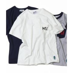 【GO OUT7月号掲載】【女性にも人気】MEI(メイ)別注ポケットTシャツ【お取り寄せ商品】