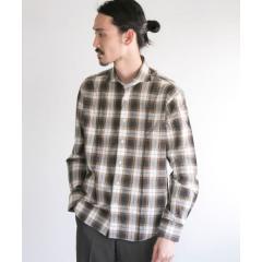 URBAN RESEARCH Tailor スペックタータンチェックシャツ【お取り寄せ商品】