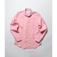 フレンチリネンカッタウェイシャツ【お取り寄せ商品】