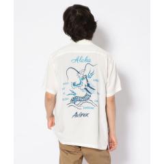 【WEB&DEPOT限定】ハワイアンシャツ フラ&ドラゴン/HAWAIIAN SHIRT HULA&DRAGON【お取り寄せ商品】
