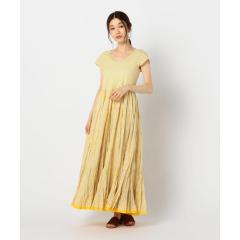 【MARIHA/マリハ】草原の虹のドレス プリント【お取り寄せ商品】