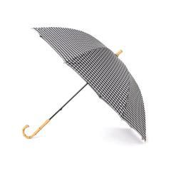 ギンガムチェック 晴雨長傘【お取り寄せ商品】