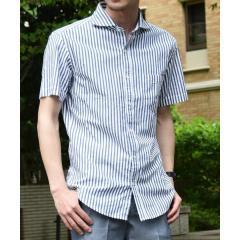 SC: カラミ セミワイドカラー ショートスリーブシャツ【お取り寄せ商品】