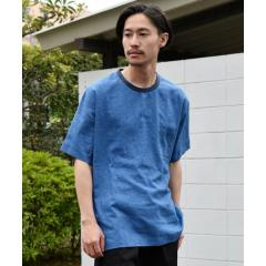 SU: リネン クルーネック プルオーバー シャツ【お取り寄せ商品】