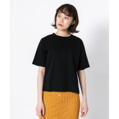 クルーネックTシャツ(5分袖)【お取り寄せ商品】