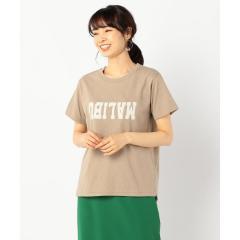 U.SコットンロゴTシャツ【お取り寄せ商品】