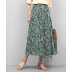 【TVドラマ着用】【ドラマ着用】カットペイズリープリントスカート
