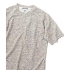 SU: ヨーロピアンリネン ボックス ポケット Tシャツ【お取り寄せ商品】
