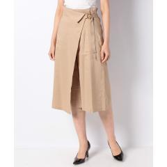 巻きスカート風パンツ