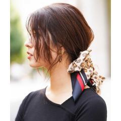 レオパード柄スカーフ【お取り寄せ商品】