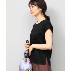 【UVカット】コットンスムースTシャツ