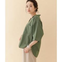 ルーズオープンカラーシャツ【お取り寄せ商品】