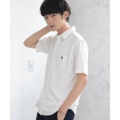 【着る消臭元】鹿の子カットドットシャツ【お取り寄せ商品】