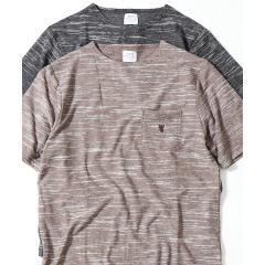 【着る消臭元】スラブボートネックTシャツ【お取り寄せ商品】
