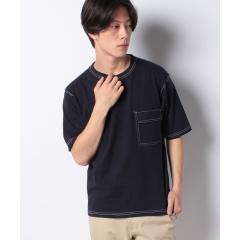 フラップポケット付きTシャツ