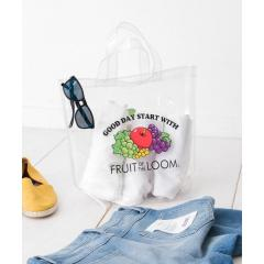 FRUIT OF THE LOOM FTL CLEAR TOTE /M【お取り寄せ商品】
